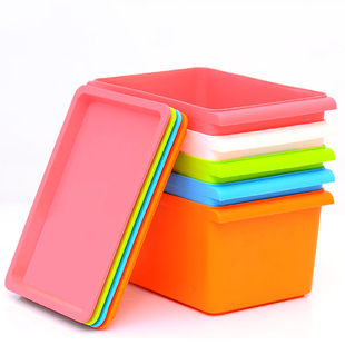 Free Shipping Candy Color Plastic Storage Box Multi Colored Desktop Storage  Box With Lids Cosmetics Storage Box 300g In Storage Boxes U0026 Bins From Home  ...