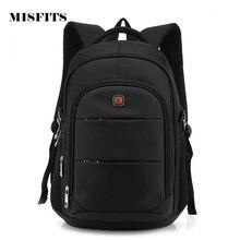 Unisex Backpacks Men Women 14 Inch Laptop Backpack Waterproof Nylon Backpack Leisure School Backpacks Bags