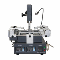 GA Rework Station HT-T300  hot air 3 zones panel control with softare control lead free Rework welding