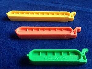 Image 2 - 10 יח\אריזה 40mm 60mm 80mm 100mm פלסטיק דיאליזה תיק מהדק איטום קליפ משלוח חינם