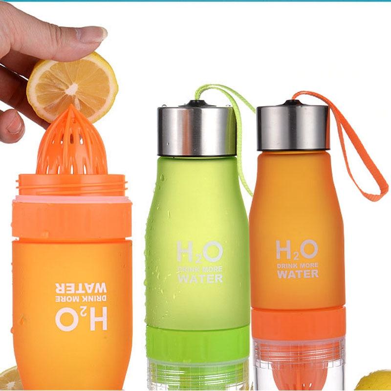 Outdoor Travel water bottle Sports Juice lemon Portable Water Bootle Gift water bottle Child water bottle 650ml