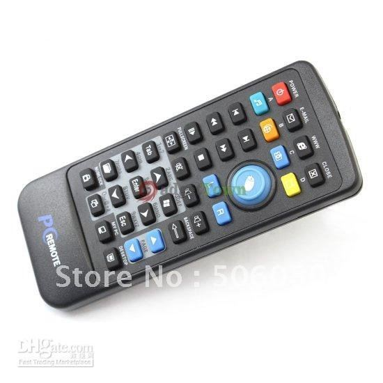 USB PC Computer Remote Controller Media Center Controller CR2025 Battery Plug and Play freeshipping