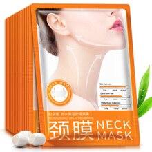 BIOAQUA Neck Mask Skin Care 50Pcs Hyaluronic Acid Moisturizi