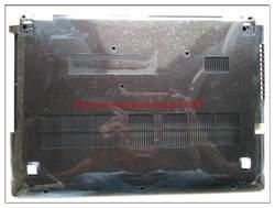 Новый ноутбук нижней части корпуса базы чехол для lenovo Z410 черный/белый