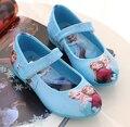 2016 Европейская мода принцесса детские мягкие кожаные летние дети обувь Элегантные новорожденных девочек сандалии прекрасные Сабо