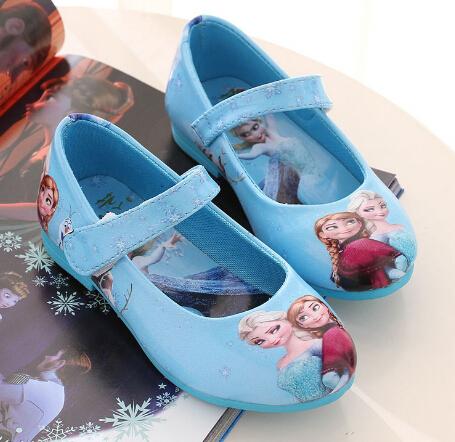 2016 Europeu moda princesa do bebê sandálias de verão crianças sapatos de couro macio Elegante meninas do bebê lindo Tamancos