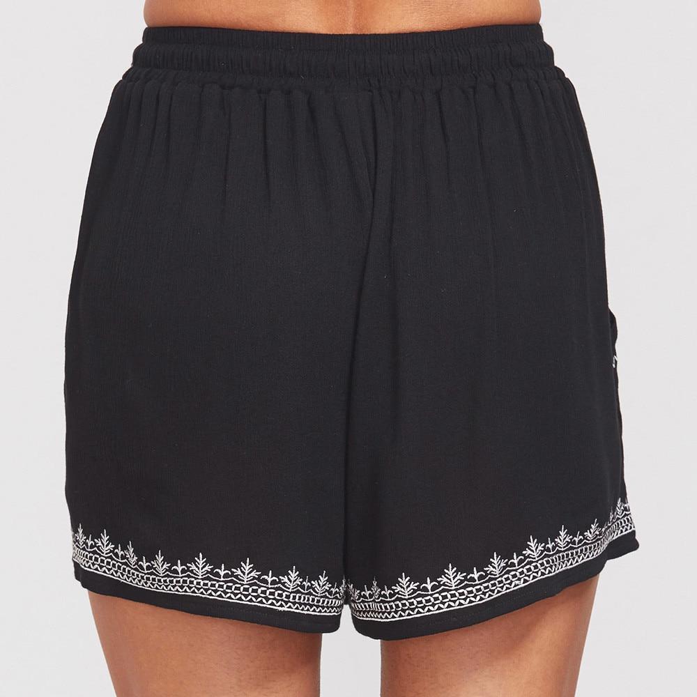 Women Shorts Sexy Hot Pants Summer Beach Casual Print Shorts High Waist Loose Short Pants Shorts Women Clothes in Shorts from Women 39 s Clothing