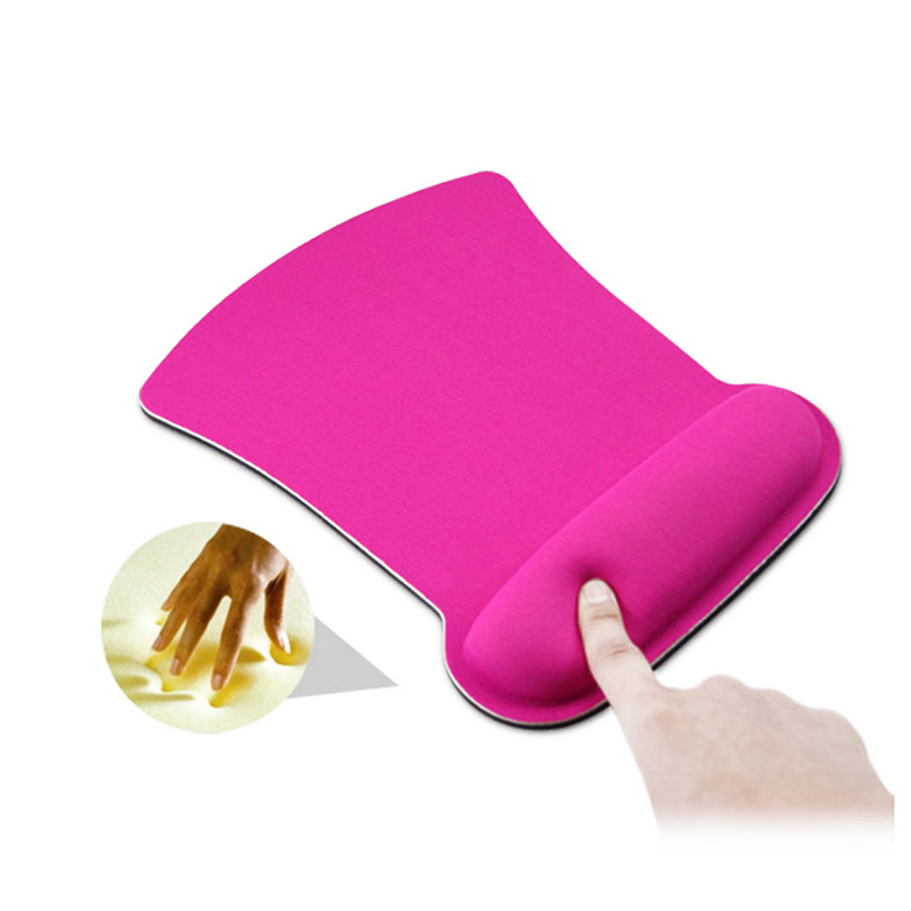 Thicken Soft Sponge Wrist Rest Mouse Pad