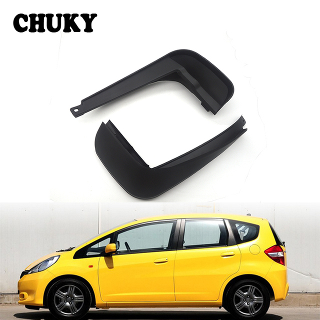 CHUKY Car Front Rear Mudguards For Honda Fit / Honda Jazz 2011 2012 2013  Hatchback Accessories