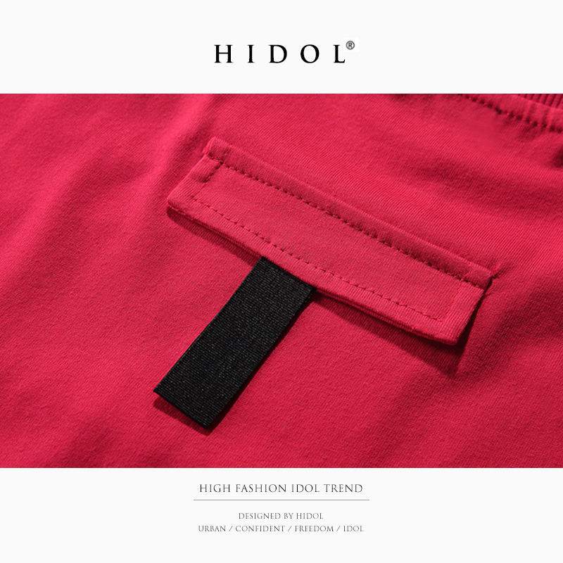 e36fde080 Oversize T shirt Swag Gothic T shirt Ribbon Red/Black/Gray Brand Clothing  Hip Hop Loose Short Tshirt Men Tee Europe West Kanye-in T-Shirts from Men's  ...