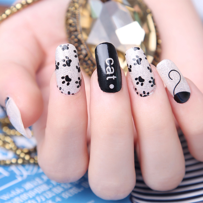 Fancy Nail Art Decoration 2016: 2016 Mouse Nail Sticker French Manicure Products Beauty 3d