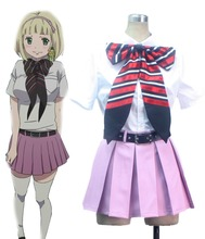 S 3XL Can be tailored Anime Ao no Exorcist Cosplay Man Woman Halloween Cos Shiemi Moriyama School uniform Cosplay Costume