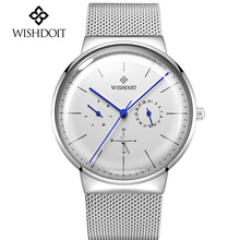 2018 NEW Mens Watches Top Brand Luxury Men's Casual Sports Watch Men ultra-thin Waterproof Quartz Wristwatch Relogio Masculino top luxury brand wwoor men s ultra thin watches men casual gold mesh band quartz watch waterproof wristwatch relogio masculino