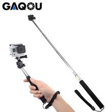GAQOU камера селфи палка полюс монопод Штатив Держатель Адаптер для Gopro Go Pro Hero 6 5 4 3 Sjcam SJ4000 для Xiaomi Yi для телефона