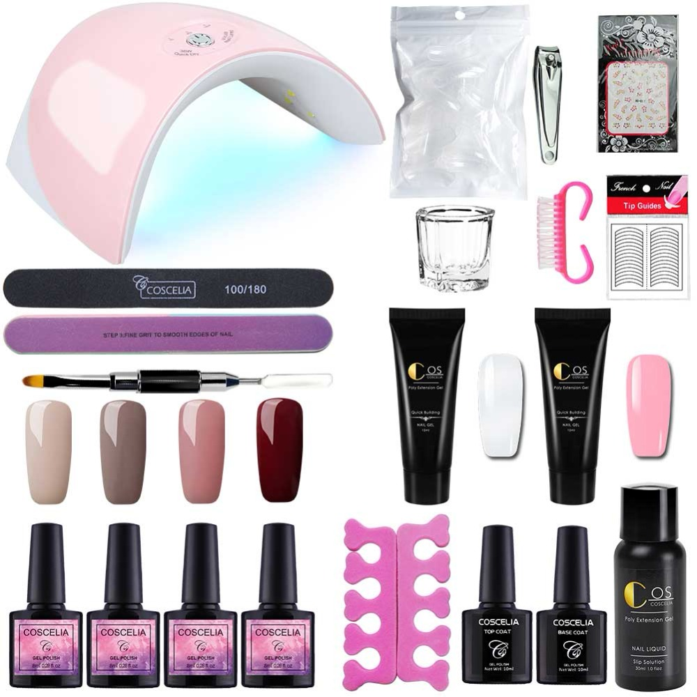 Beauty & Health 100% Quality 2019 New Style Nail Art Gel Makeup Beauty Nail Gel Poly Gel Lasting Finger Nail Crystal Jelly Camouflage Uv Lamp Extension Nail Gel