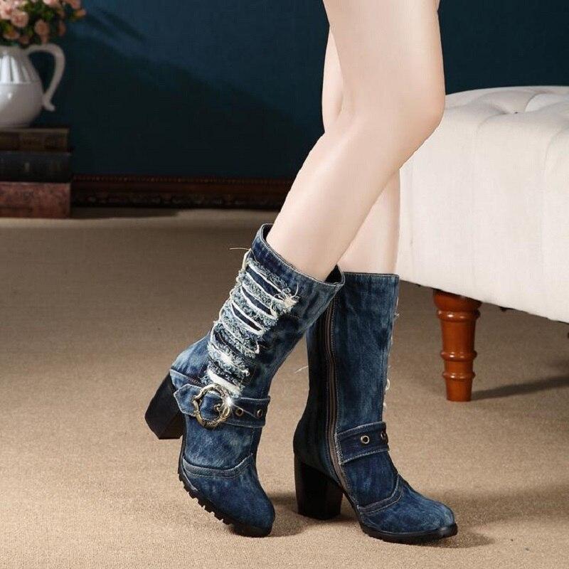 2b1f81ac7bb9c botas de jean para damas