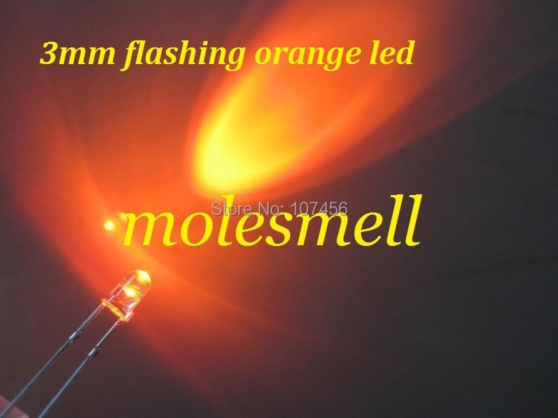 100PCS 3Mm White Led Super Bright Light Bulbs Lamp US Stock z