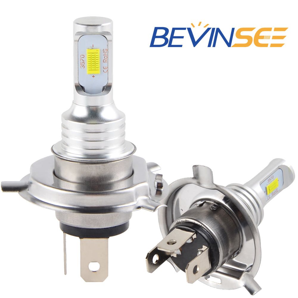 NICECNC 6500K White 3000LM 100W/Pair 9-32V 12V <font><b>Motorcycle</b></font> <font><b>H4</b></font> <font><b>LED</b></font> Headlight <font><b>Bulbs</b></font> For BMW F800R F 800R F 800 R 2015 2016 2017 image