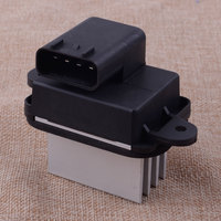 4 Fin Blower Motor Power Resistor Heater Fan Resistor Module 27151 ZT00A Fit for Nissan Armada Frontier Pathfinder Quest Titan