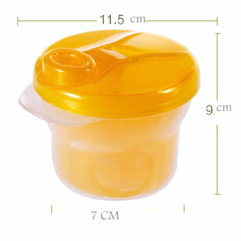 Portable Milk Powder Formula Dispenser Food Container Infant bean Storage Box for Kids Baby Care Toddler Travel Bottle