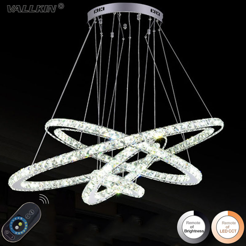 DIMMABLE LED K9 Crystal Chandelier Pendant Lamp 4 Rings Chandeliers Lamps Indoor Fixtures for Dining Room Living Room Hotel купить автомобиль с пробегом паджеро в москве