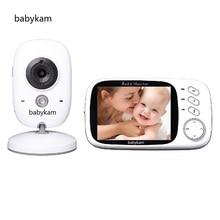 Babykam doppler fetal baba electronics 3.2 inch LCD IR Night vision Intercom Lullabies Temperature monitor camera fetal doppler