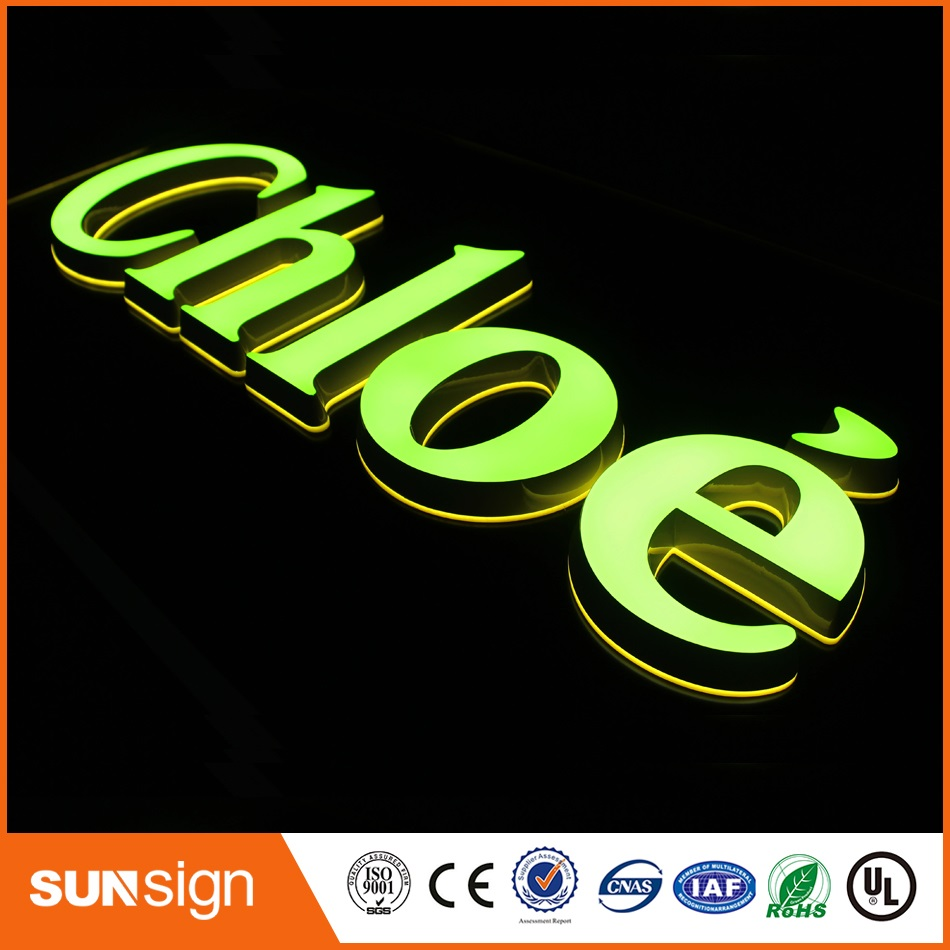 Custom Sign Lettering Illuminated Sign Letters