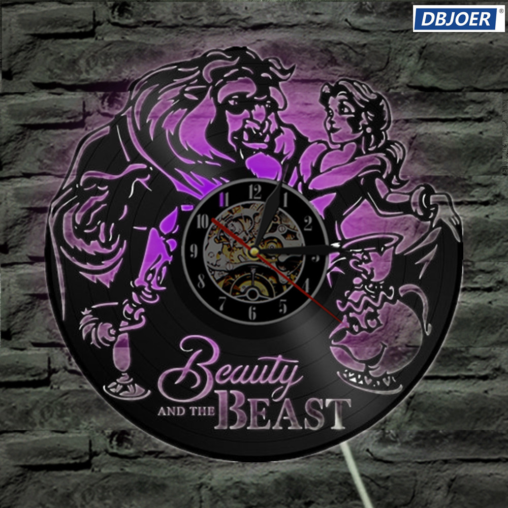 Beauty And The Beast Unique Couple Tattoos