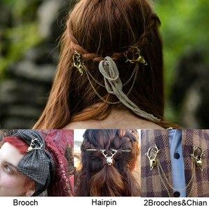 Viking Pagan Wiccan Stag Skull