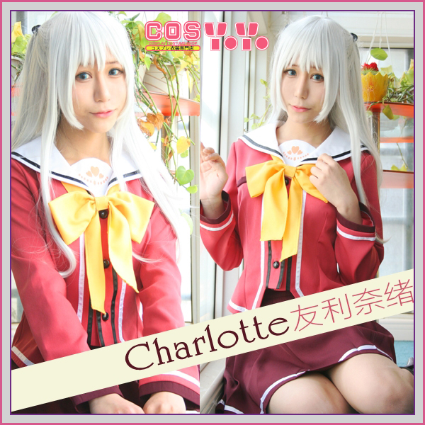 Costumes & Accessories Women's Costumes Charlotte Nao Tomori Cosplay Costume Custom Made