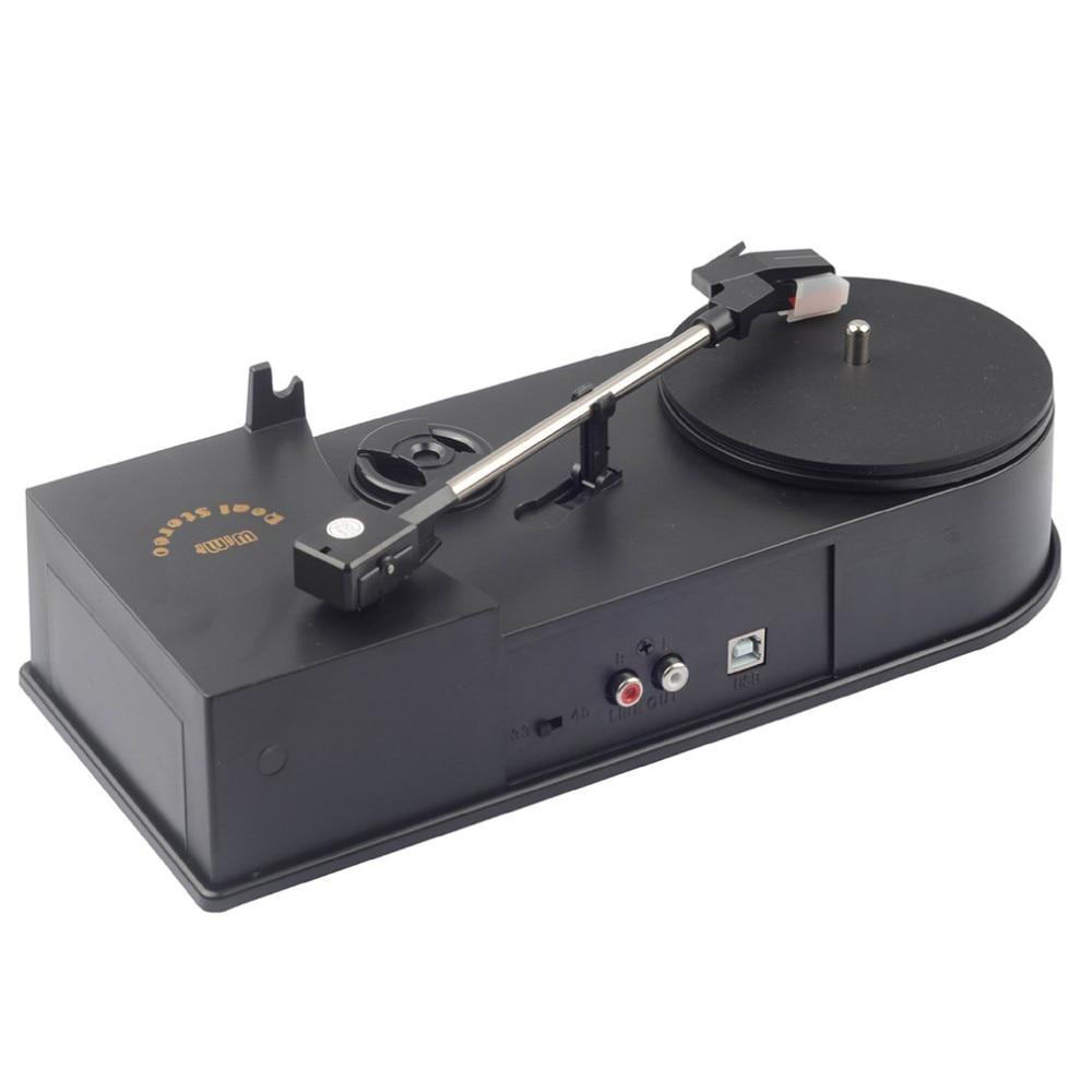 Unterhaltungselektronik Plug & Play Gutes Renommee Auf Der Ganzen Welt Gewidmet Vintage Phonographen Tragbare Plattenspieler Vinyl-plattenspieler Konverter 45/33 Rpm Lp Turntables Mp3 Wav Plattenspieler