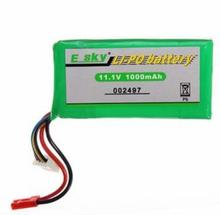 11.1v 1000mAh Lipo battery Li-Po ,EK-002497 Esky Honey Bee CP3 HB CP 3 CPX CT