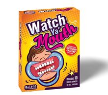 Watch Ya Mouth Family Edition the Authentic Hilarious Mouth Guard Party Game Novelty Gag Toys Practical Jokes