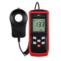 Ta8133 digital luxmeter luminância medidor de luz 200000lux lux/fc iluminômetro|Med. brilho| |  -