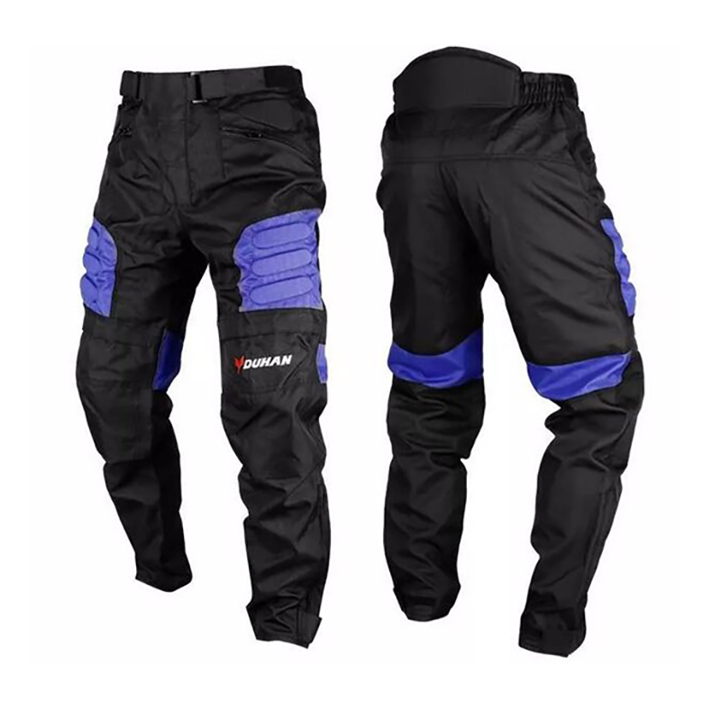 2017 DUHAN Motorcycle Windproof Enduro Riding Pants Motocross Off Road Racing Sports Knee Protective Sports Pants