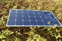Solarparts 1PCS 100W 12V Aluminium Board flexible solar panel solar module solar cell for RV yacht
