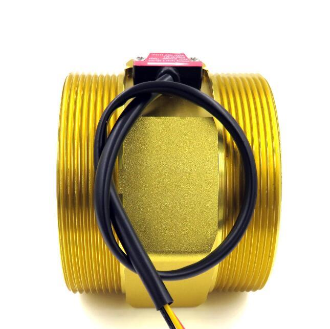 G3 DN80mm Hall Water Flow Sensor Turbine Flow Meter USN HS30TA 50 500L min Rotary Vane