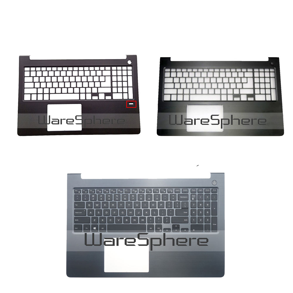 New Original Palmrest With US Backlit Keyboard For Dell Vostro 15 5000 5568 V5568 Top Cover Upper Case 0FCN57 0HJP49