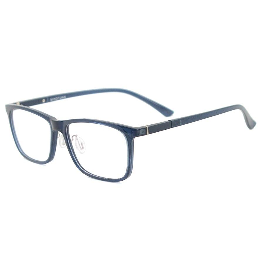 Image 4 - Men Rectangular Flexible Plastic Lightweight TR90 Computer Glasses Women Eyeglasses With Anti Blue Light-in Women's Blue Light Blocking Glasses from Apparel Accessories