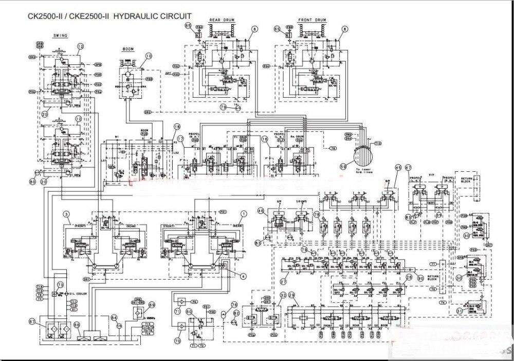Kobelco 크레인 샵 매뉴얼, 운영자 및 유지 보수 매뉴얼 operation manual