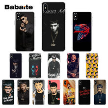 Babaite Anuel AA Rapper TPU Zachte Siliconen Transparante Telefoon Case voor iPhone 7 7plus 5 5Sx 6 8 8 plus X XS MAX XR(China)