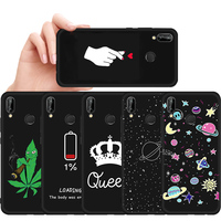 Soft TPU Case For Huawei P20 Pro Mate 10 Lite 20 X P10 P8 P9 Lite 2017 Nova  3e 2i 3 3i Cover For Honor 8 9 10 8X Max 8C 9i Case c326ba3bab9f