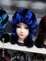 Sênior cinto chapéu real da bola da pele das mulheres de pele de coelho mulheres moda inverno chapéu freeshipping