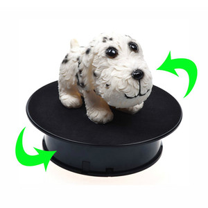 Image 5 - 20cm 360 Degree USB Electric Rotating Turntable Display Stand for Photography Max Load 1.5kg video shooting props Turntable