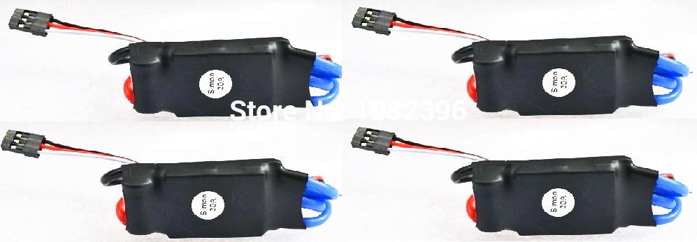 4 шт./лот 30A электронный контроллер скорости ESC w/Simonk прошивка для RC мультикоптера и вертолета