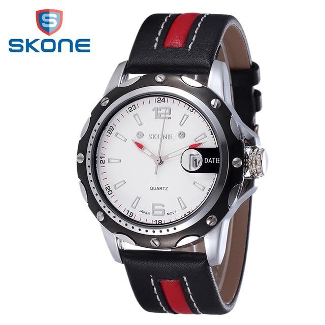SKONE Man Watches Men Luxury Brand 2016 Quartz Watch Waterproof Sports Watches for Men Clock Fashion
