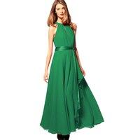 Promote Quality Ladies Chiffon Dress Big Size XXXL Women Long Ankle Length Dress Female Formal Slim
