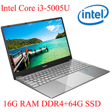 P3-06 16G RAM 64G SSD I3-5005U Notebook  Laptop Ultrabook Backlit IPS WIN10 keyboard and OS language available for choose