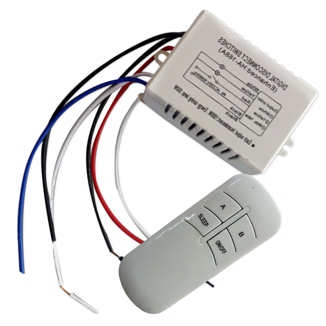 1pcs Wireless Remote Control Switch 2/3ways ON/OFF 220V Digital Distance Control Switch Receiver Transmitter for LED Lamp Light1pcs Wireless Remote Control Switch 2/3ways ON/OFF 220V Digital Distance Control Switch Receiver Transmitter for LED Lamp Light