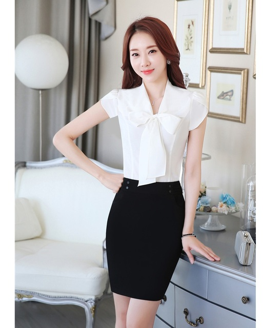 Aliexpress.com : Buy Summer Fashion Office Uniform Designs Women ...